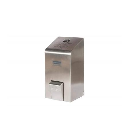 фото: Диспенсер для чистящего средства Rubbermaid металлик 400мл, для спрея, для сидений унитазов и ручек, RBR9001BD35001