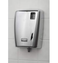Дозатор для санитарных зон Rubbermaid AutoClean металлик 300мл, для писсуаров, с ЖК-дисплеем, 1817011