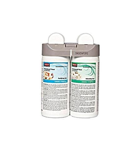 фото: Освежитель воздуха Rubbermaid Microburst Duet Purifying Spa/Relaxing Spa 2х121мл, запасной картридж, 1910729