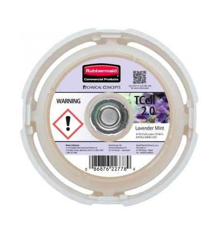фото: Освежитель воздуха Rubbermaid TCell 2.0 Lavender Mint 24мл, запасной картридж, 1957526
