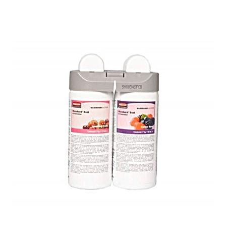 фото: Освежитель воздуха Rubbermaid Microburst Duet Sparkling Fruits/Cotton Berry 2х121мл, запасной картридж, 1910757