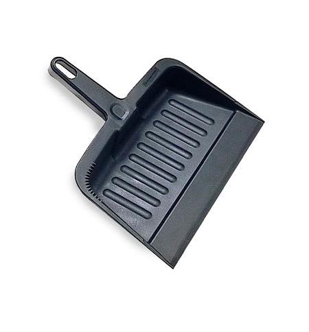 фото: Совок для мусора Rubbermaid Lobby Pro 21см черный, FG200500CHAR