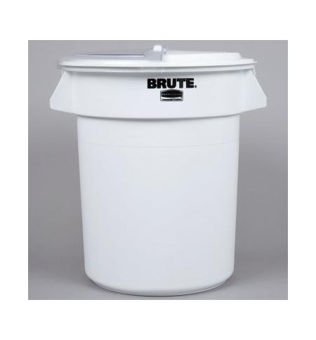 фото: Контейнер-бак Rubbermaid Brute 75.7л белый, FG262000WHT