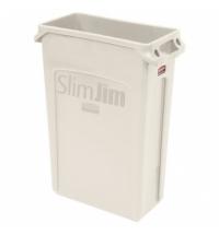 Контейнер для мусора Rubbermaid SlimJim 87л бежевый, с системой вентиляции, FG354060BEIG