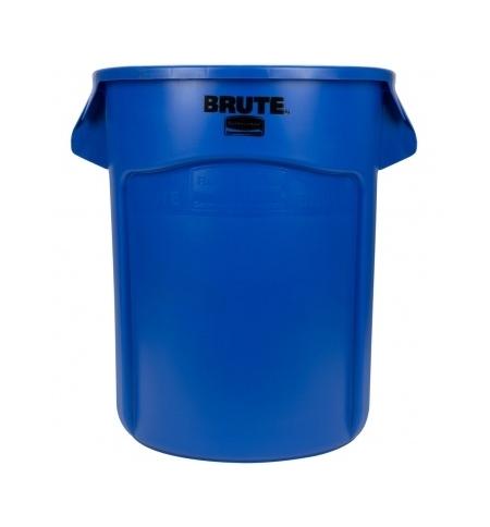 фото: Контейнер-бак Rubbermaid Brute 75.7л синий, FG262000BLUE