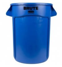 фото: Контейнер-бак Rubbermaid Brute 121.1л синий, FG263200BLUE