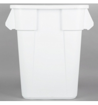 фото: Контейнер-бак Rubbermaid Brute 151.4л белый, FG353600WHT
