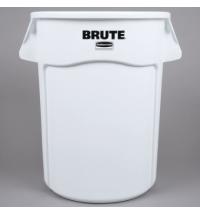 Контейнер-бак Rubbermaid Brute 166.5л белый, с системой вентиляции, 1779740