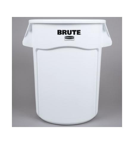фото: Контейнер-бак Rubbermaid Brute 166.5л желтый, с системой вентиляции, FG264360YEL