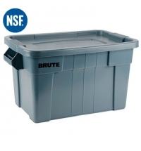 Ящики для хранения с крышкой Rubbermaid Brute Tote 75.5л серый, с крышкой, FG9S3100GRAY