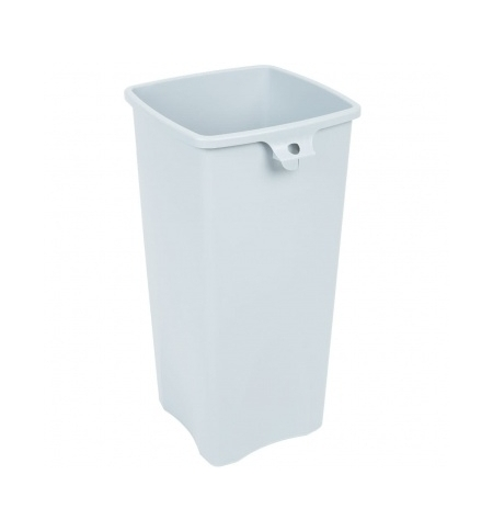 фото: Контейнер для мусора Rubbermaid Untouchable 87л синий, со знаком переработки, FG356973BLUE