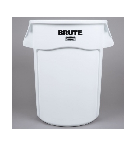 фото: Контейнер-бак Rubbermaid Brute 166.5л серый, с системой вентиляции, FG264360GRAY