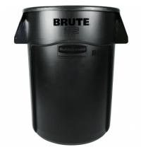 Контейнер-бак Rubbermaid Brute 166.5л черный, с системой вентиляции, FG264360BLA
