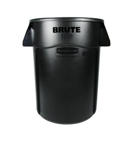 фото: Контейнер-бак Rubbermaid Brute 166.5л черный, с системой вентиляции, FG264360BLA