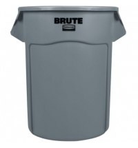 Контейнер-бак Rubbermaid Brute 208.2л серый, FG265500GRAY