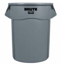 Контейнер-бак Rubbermaid Brute 208.2л серый, FG265500GRAY