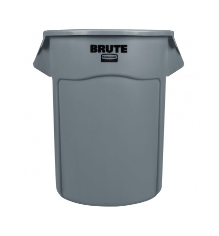 фото: Контейнер-бак Rubbermaid Brute 208.2л серый, FG265500GRAY