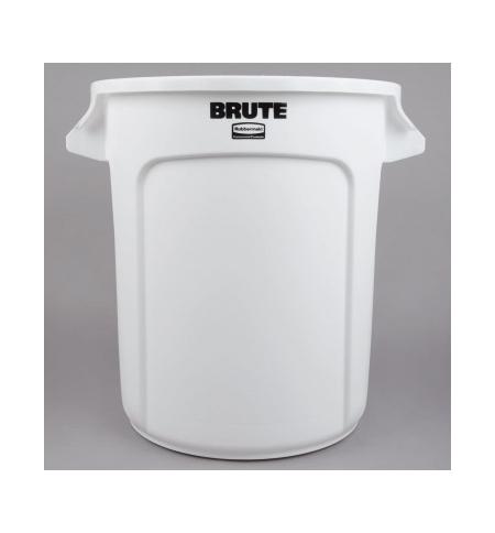 фото: Контейнер-бак Rubbermaid Brute 37.9л белый, FG261000WHT