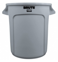 Контейнер-бак Rubbermaid Brute 37.9л серый, FG261000GRAY