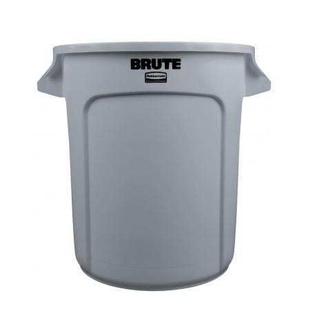 фото: Контейнер-бак Rubbermaid Brute 37.9л серый, FG261000GRAY