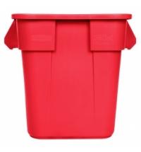 Контейнер-бак Rubbermaid Brute 106л красный, FG352600RED