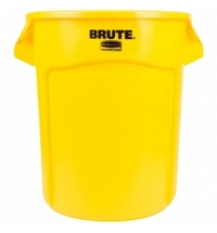 Контейнер-бак Rubbermaid Brute 75.7л желтый, FG262000YEL