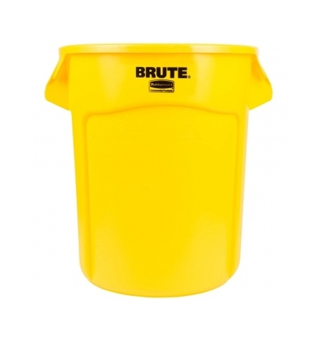 фото: Контейнер-бак Rubbermaid Brute 75.7л желтый, FG262000YEL