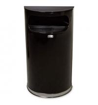Контейнер для мусора Rubbermaid Designer 34л черный, с внутренним ведром, FGSO820PLBK