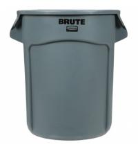 Контейнер-бак Rubbermaid Brute 75.7л серый, FG262000GRAY