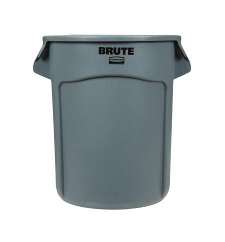 фото: Контейнер-бак Rubbermaid Brute 75.7л серый, FG262000GRAY