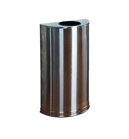 фото: Контейнер для мусора Rubbermaid Designer 45л металлик, с внутренним ведром, FGSO12SSSPL