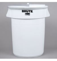 Контейнер-бак Rubbermaid Brute 121.1л белый, FG263200WHT