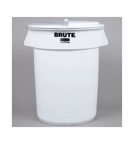 фото: Контейнер-бак Rubbermaid Brute 121.1л белый, FG263200WHT
