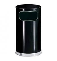 Контейнер для мусора Rubbermaid Designer 45л черный, с внутренним ведром, FGSO1620GLBK