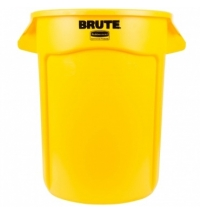 Контейнер-бак Rubbermaid Brute 121.1л желтый, FG263200YEL
