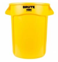 Контейнер-бак Rubbermaid Brute 121.1л желтый, FG263200YEL