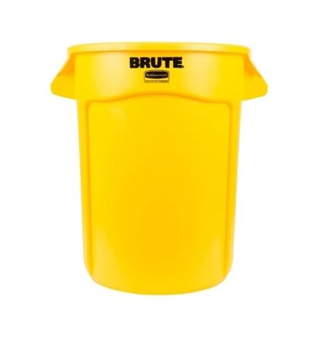 фото: Контейнер-бак Rubbermaid Brute 121.1л желтый, FG263200YEL