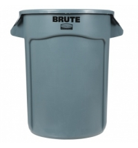 Контейнер-бак Rubbermaid Brute 121.1л серый, FG263200GRAY