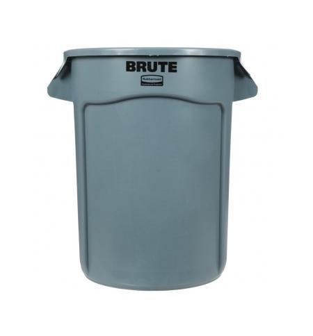 фото: Контейнер-бак Rubbermaid Brute 121.1л серый, FG263200GRAY