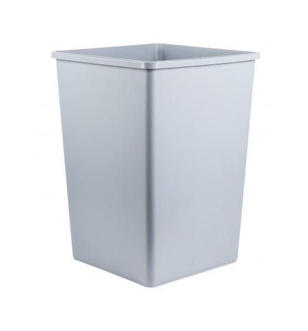 фото: Контейнер-бак для мусора Rubbermaid StyleLine 132.5л серый, FG395800GRAY