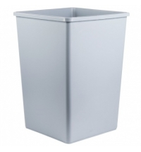 Контейнер-бак для мусора Rubbermaid StyleLine 132.5л синий, FG395873BLUE