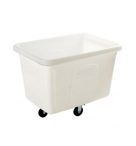 фото: Контейнер для крупногабаритного груза Rubbermaid 300л белый, на колесах, FG461200WHT