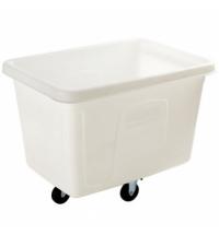 Контейнер для крупногабаритного груза Rubbermaid 400л белый, на колесах, FG461400WHT