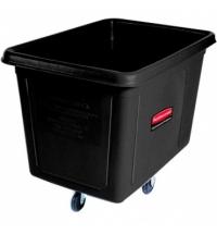 Контейнер для крупногабаритного груза Rubbermaid 600л черный, на колесах, FG461900BLA