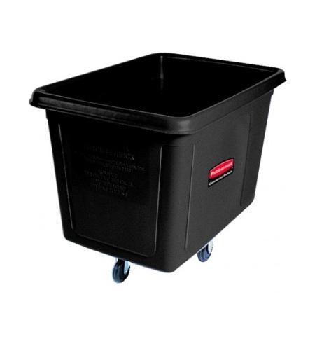 фото: Контейнер для крупногабаритного груза Rubbermaid 600л черный, на колесах, FG461900BLA