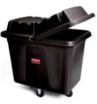 Контейнер для крупногабаритного груза Rubbermaid 200л черный, на колесах, FG460800BLA