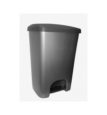 фото: Контейнер для мусора с педалью Rubbermaid 40л белый, R052005