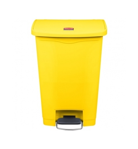 фото: Контейнер для мусора с педалью Rubbermaid Step-On 50л желтый, 1883575