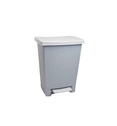 фото: Ведро для мусора с педалью Rubbermaid 25л серое, R052000