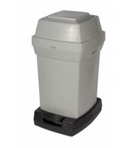 Контейнер для подгузников Rubbermaid 65л серый, для подгузников, RNAP2PEDG